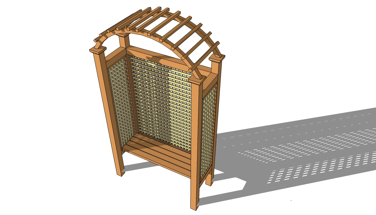 Amazing Free Garden Arbor Seat Plans Garden Ftempo U Garden Arbor Bench With How To Build A Garden Arbour
