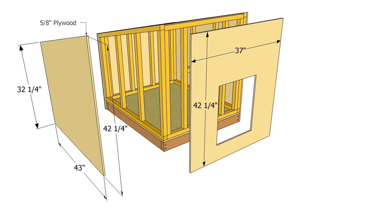DIY Dog House Plans Free
