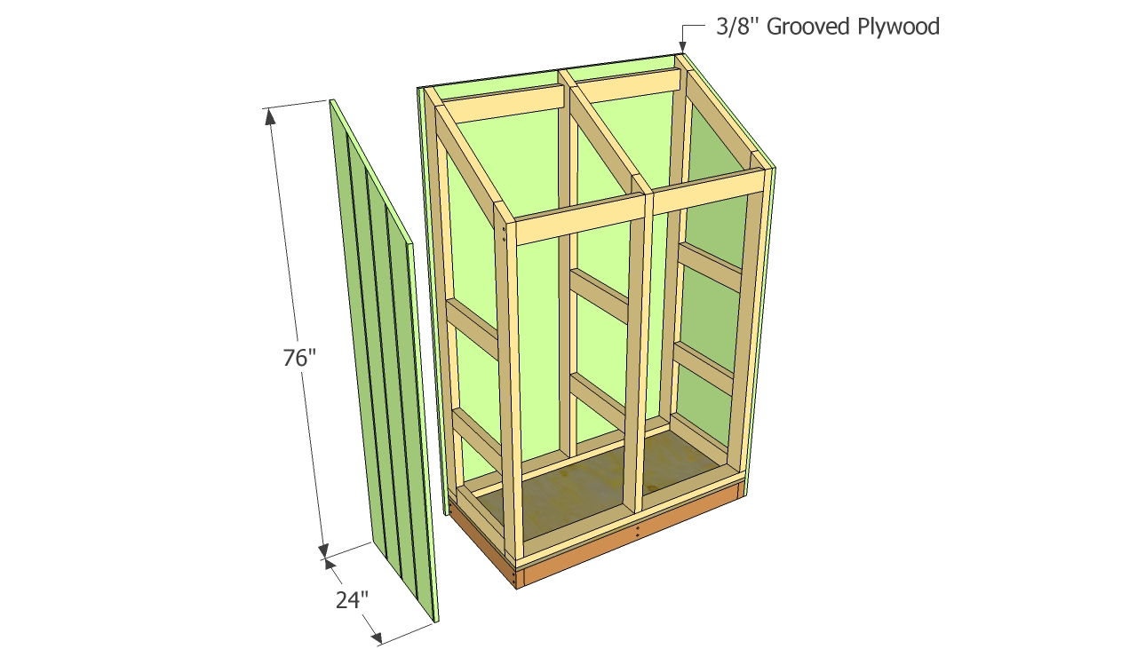 Permalink to making wooden shelves for a garage