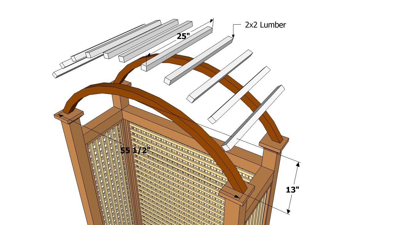 Pdf diy arched arbor plans download balsa wood airplanes for Wooden garden arch designs
