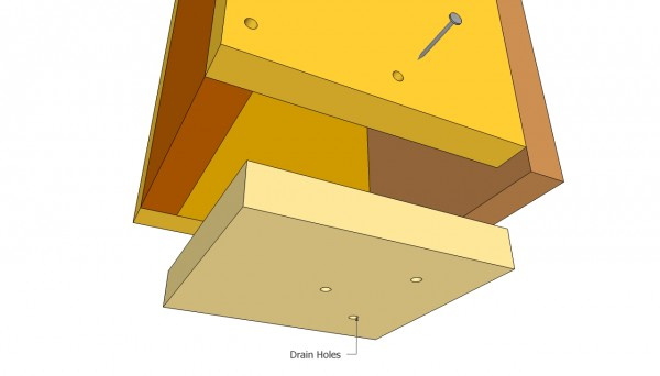 Birdhouse bottom plans