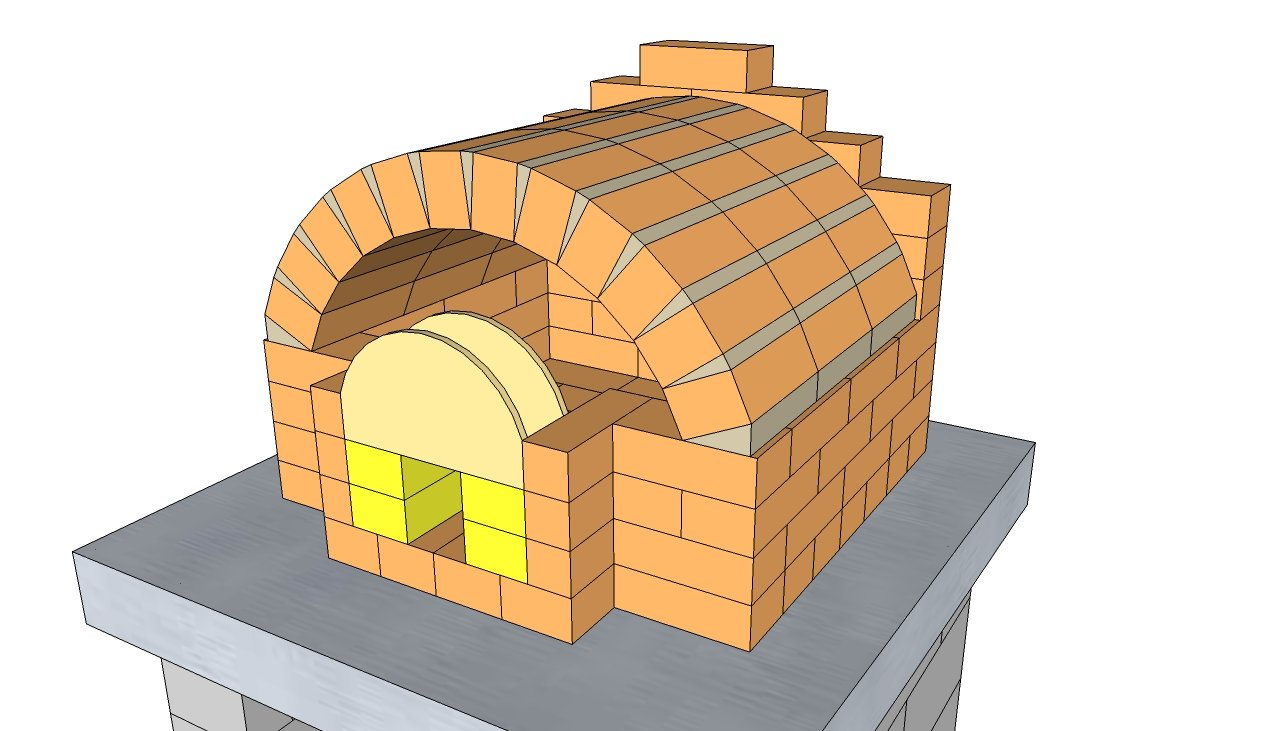 how to make an outside oven