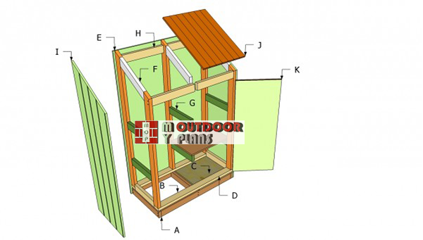 Building-a-lean-to-tool-shed
