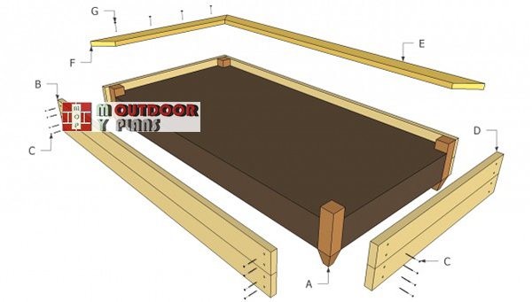 Building-a-raised-garden-bed