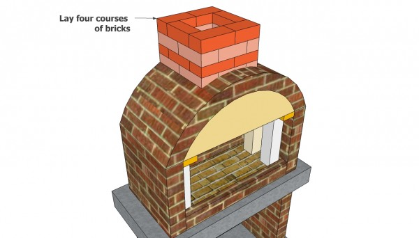 brick bbq plans with chimney outdoor bbq plans myoutdoorplans free woodworking 384
