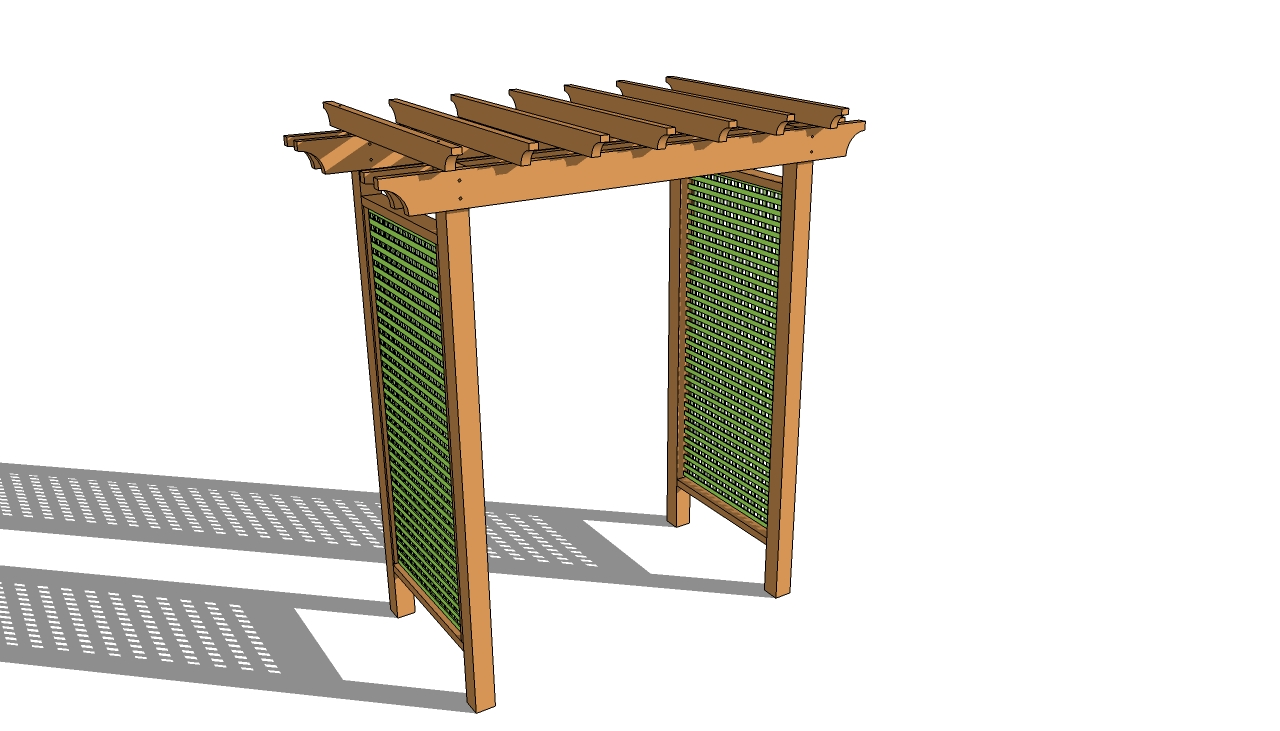 Grape arbor plans free myoutdoorplans free woodworking for Plans for arbors