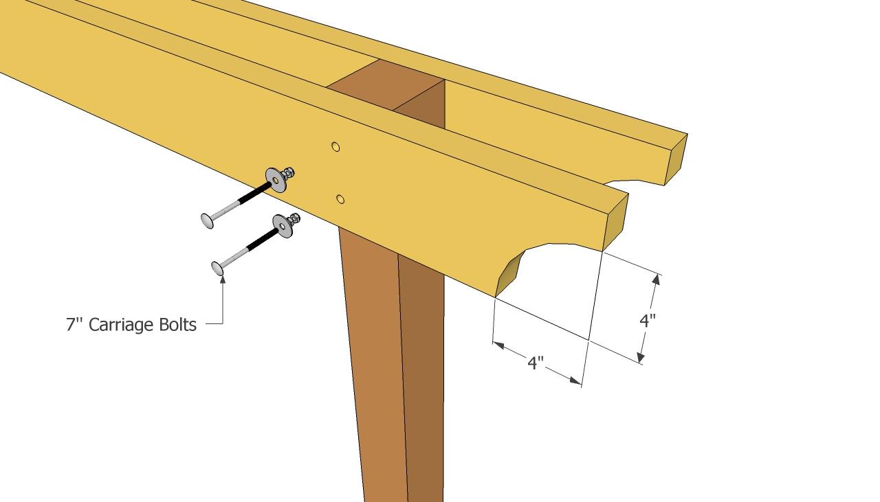Patio pergola plans | MyOutdoorPlans | Free Woodworking Plans and ...