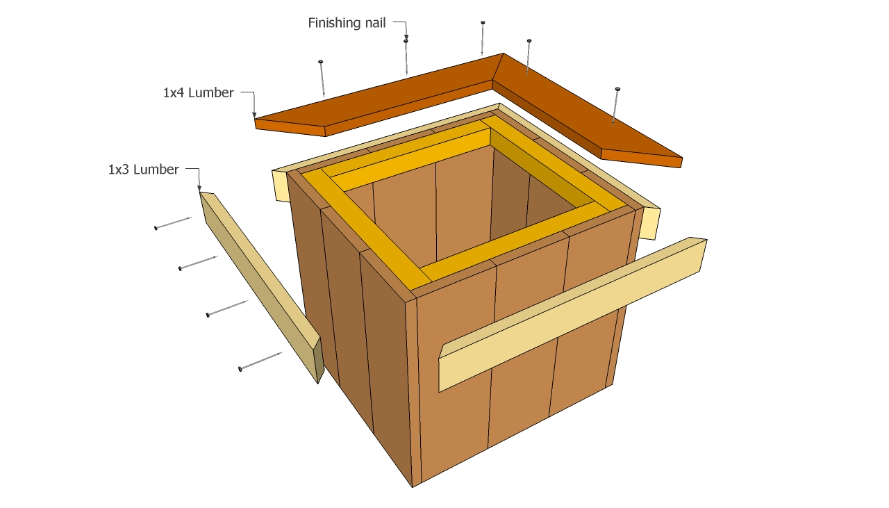Wooden Planter Plans Free Outdoor Plans Diy Shed