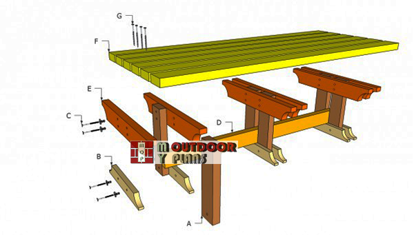 Outdoor-bench-plans