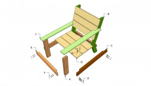 Outdoor chair components