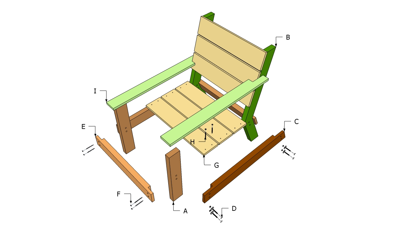 Outdoor Chair Plans Free