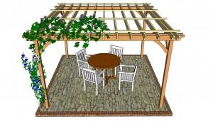 pergola plans for patios