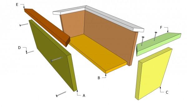 Planter Box Components