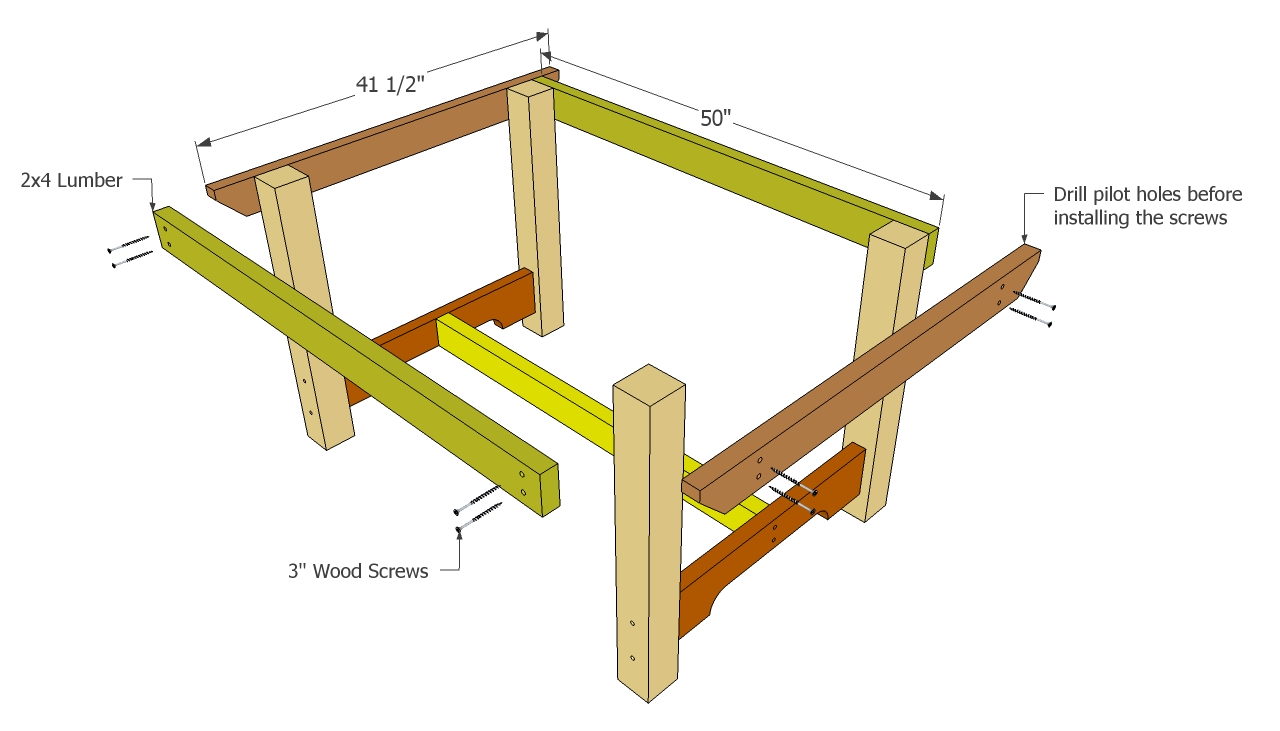 Free Outdoor Wood Table Plans | Beginner Woodworking Project