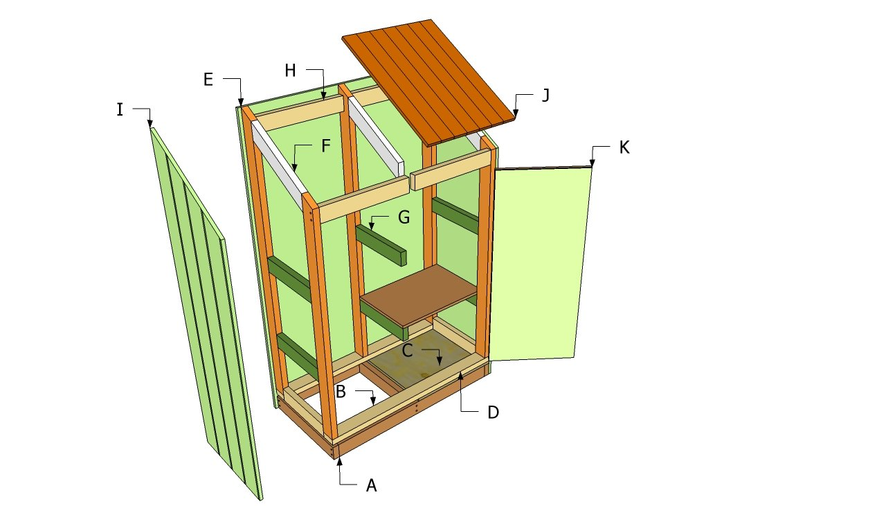 DIY Wood Design: Ideas Free storage shed plans diy