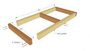 Tool shed frame plans