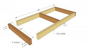 Tool shed frame plans
