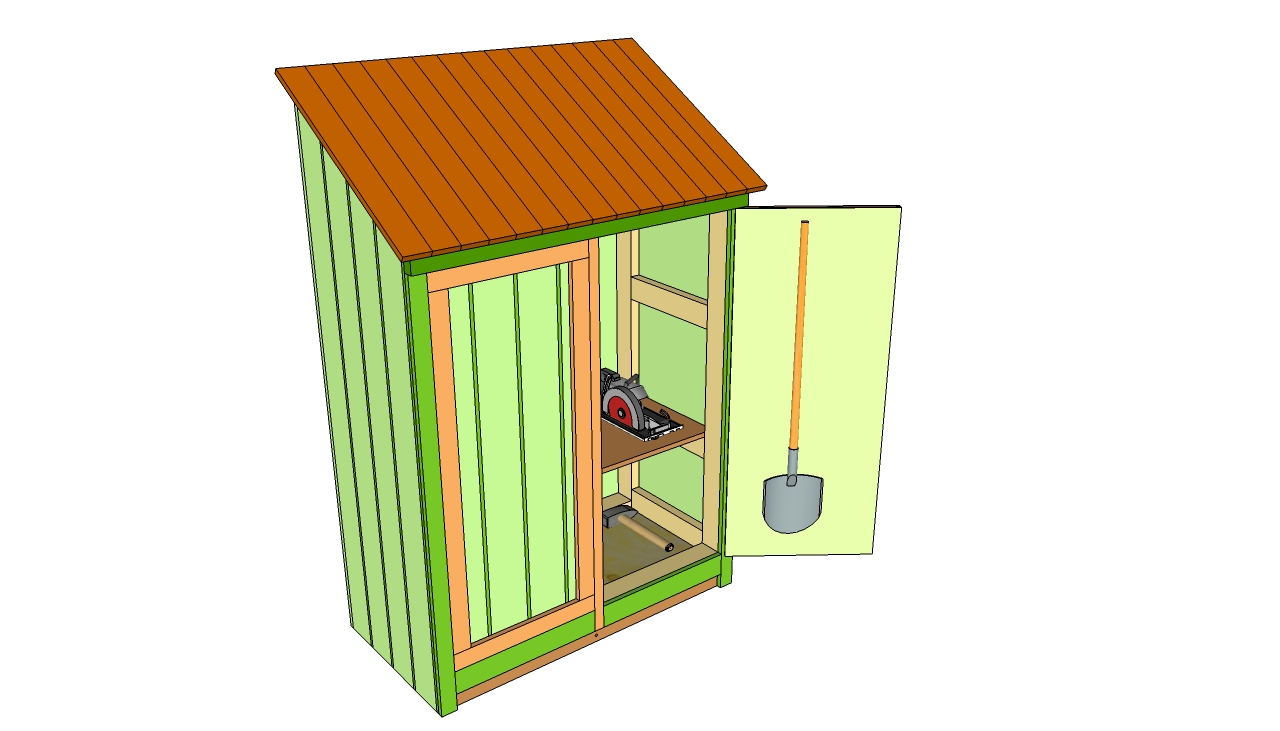 Small shed plans myoutdoorplans free woodworking plans for Equipment shed plans free