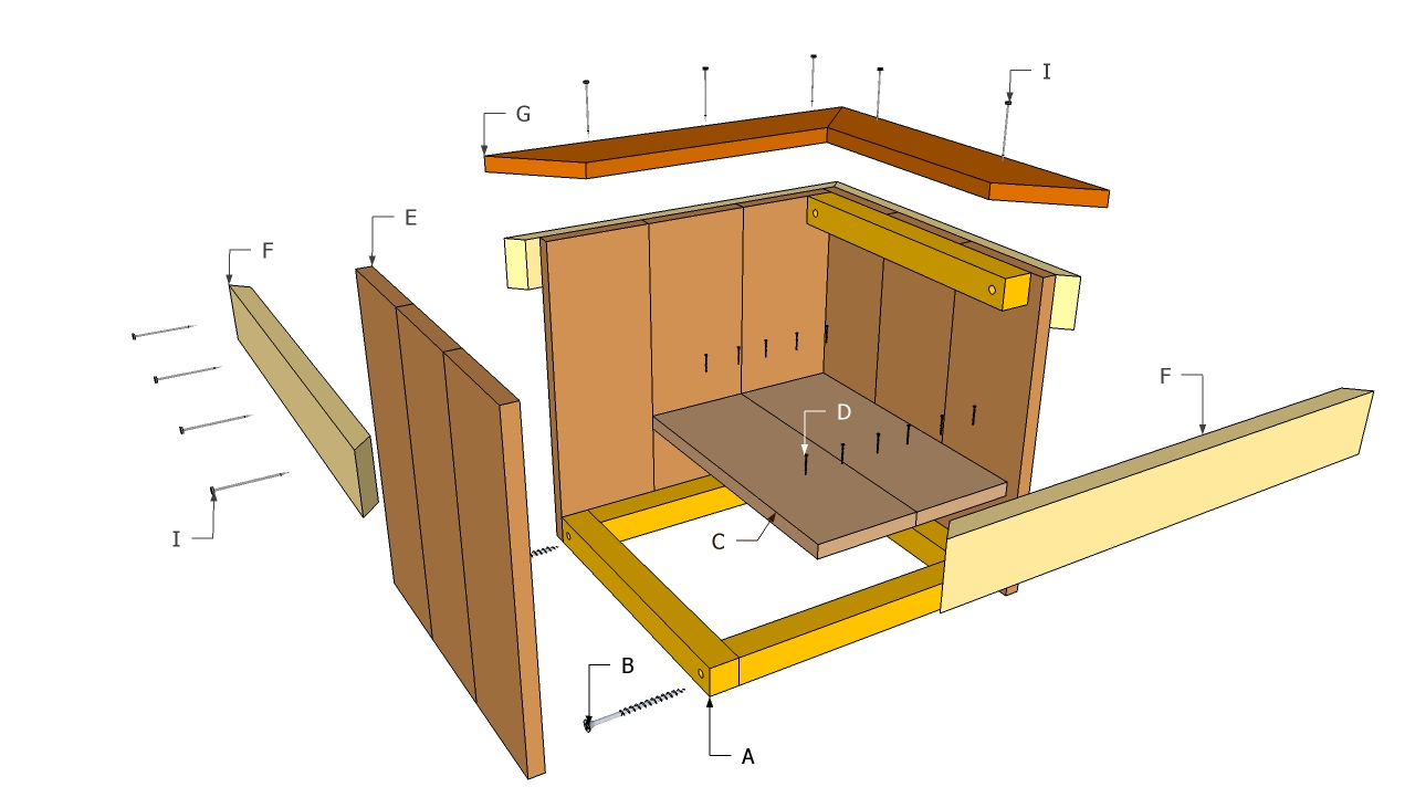 wood garden box plan