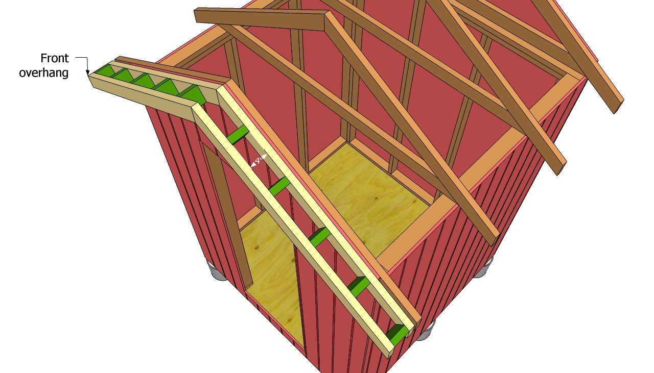 Gable Shed Roof Plans | Free Outdoor Plans - DIY Shed ...