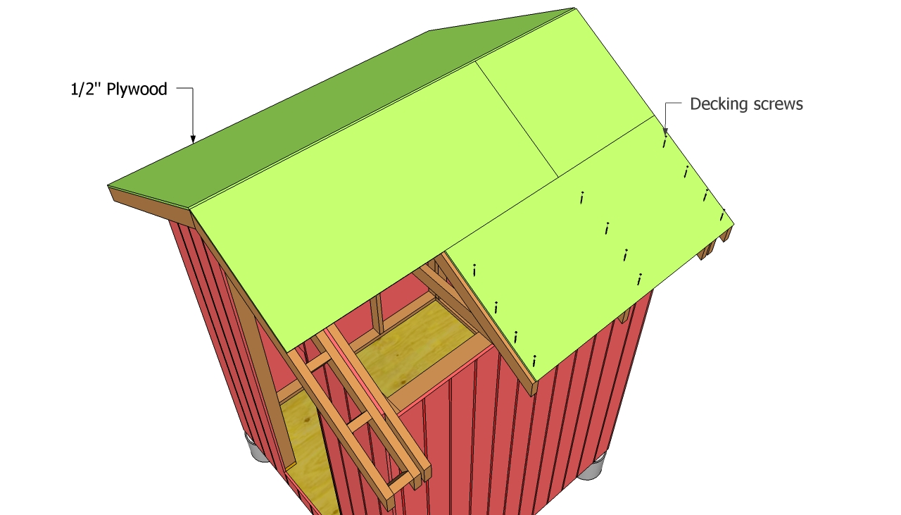 Gable Shed Roof Plans