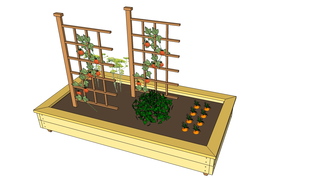 Plans for raised garden beds myoutdoorplans free for Raised bed plans