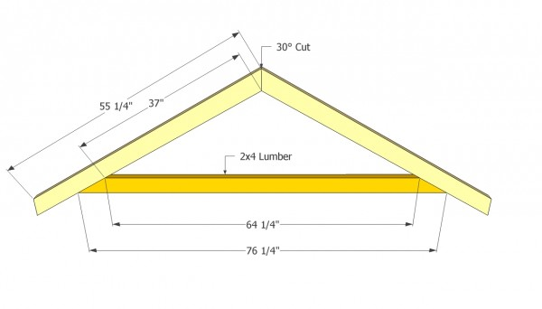Gable Shed Roof Plans | MyOutdoorPlans | Free Woodworking Plans and ...