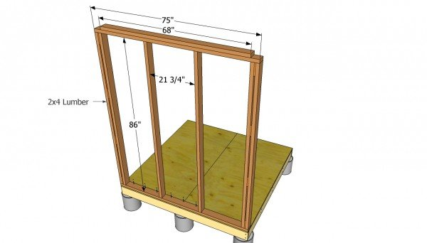 Small wall shed plans