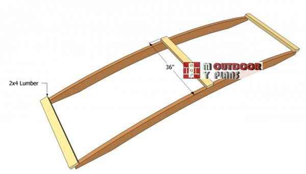 Arched-bridge-slats-plans