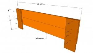 Bench frame plans