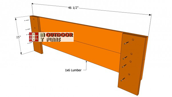 Bench-frame-plans