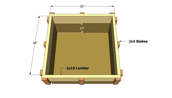 Brick bbq foundation plans
