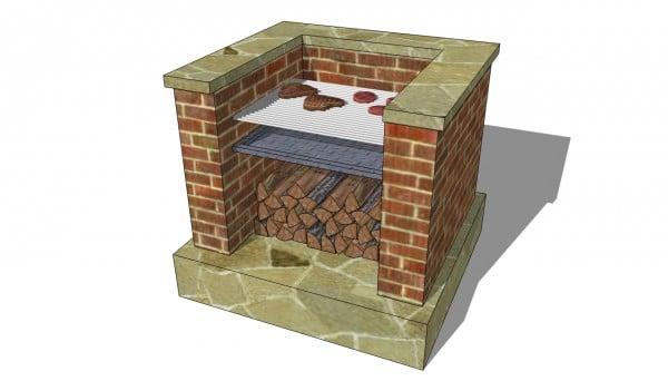 Brick bbq plans