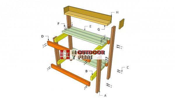 Building-a-basic-potting-bench