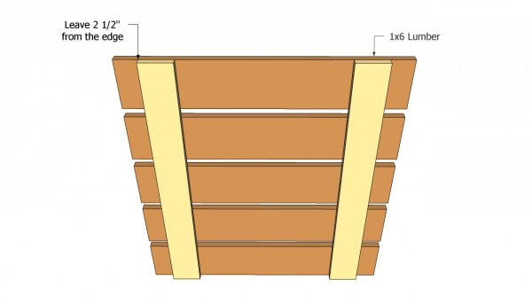 Compost bin front face plans