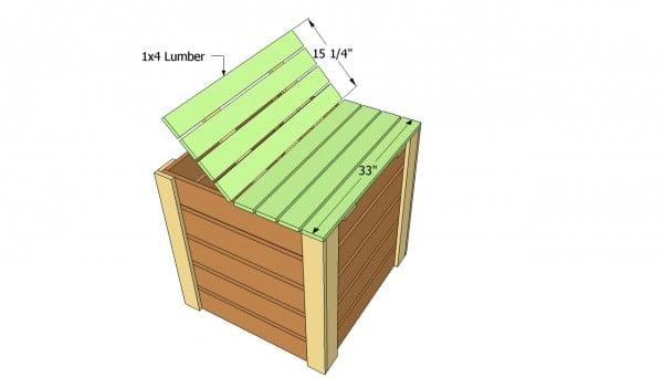 Compost bin lid plans