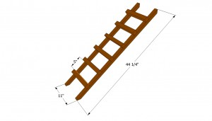 Chicken coop ladder plans
