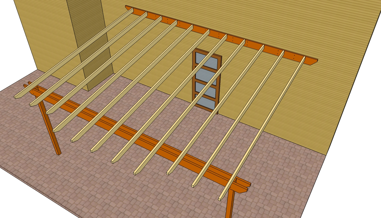 Woodwork diy pergola attached to house pdf plans for How can i build my house