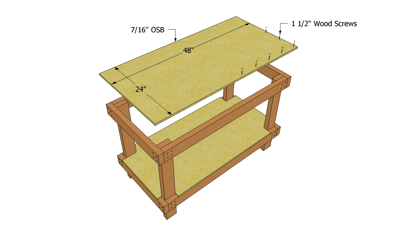 DIY Workbench Plans Free