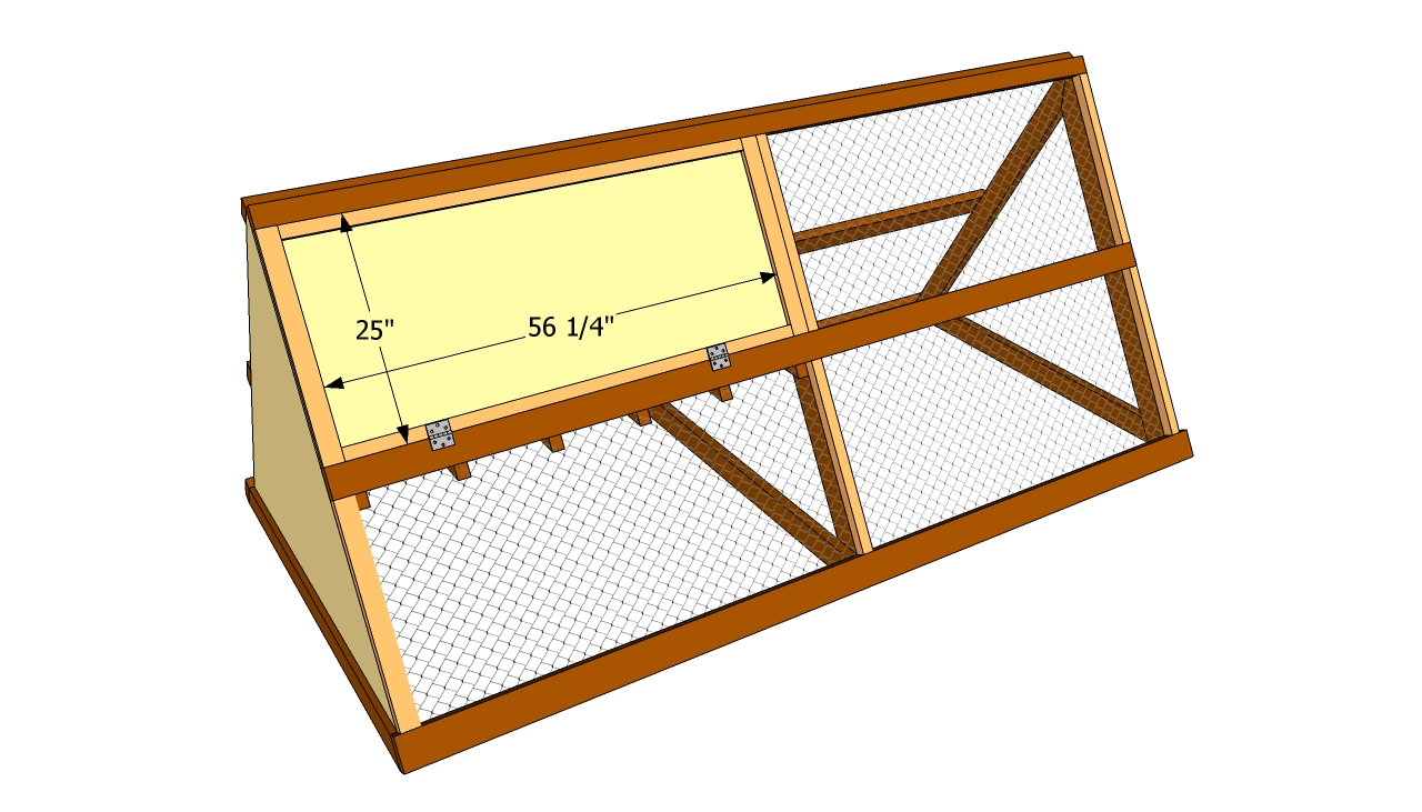A Frame Chicken Coop Plans : A frame chicken coop plans free outdoor diy shed