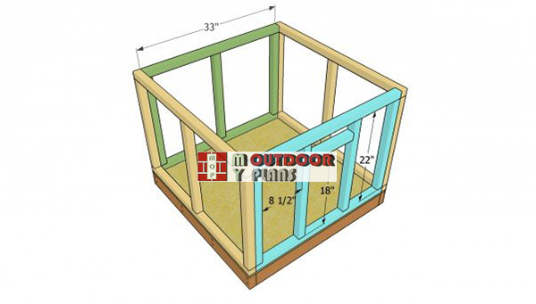 Installing-the-front-and-back-wall-frames