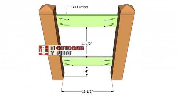 Installing-the-side-supports-planter-box