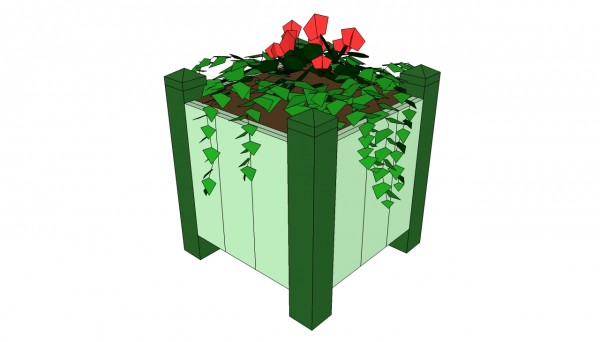 Outdoor planter plans