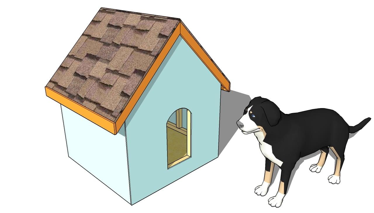 Simple Dog House Plans
