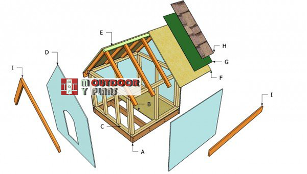 Simple-dog-house-plans