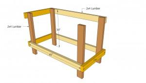 Workbench dimensions