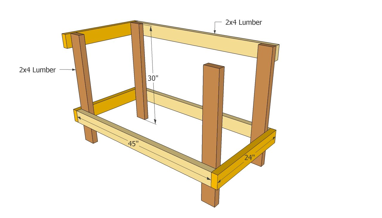 Workbench plans free | Free Outdoor Plans - DIY Shed, Wooden Playhouse ...
