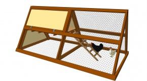 A Frame Chicken Coop Plans
