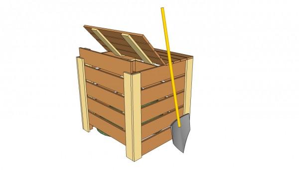 compost bin plans free