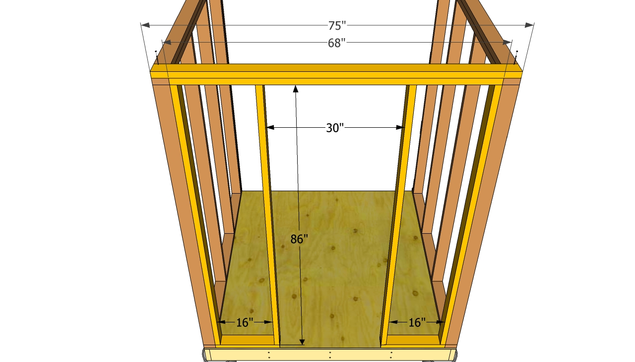 Framing for a New Exterior Door - How to Install House Doors. DIY